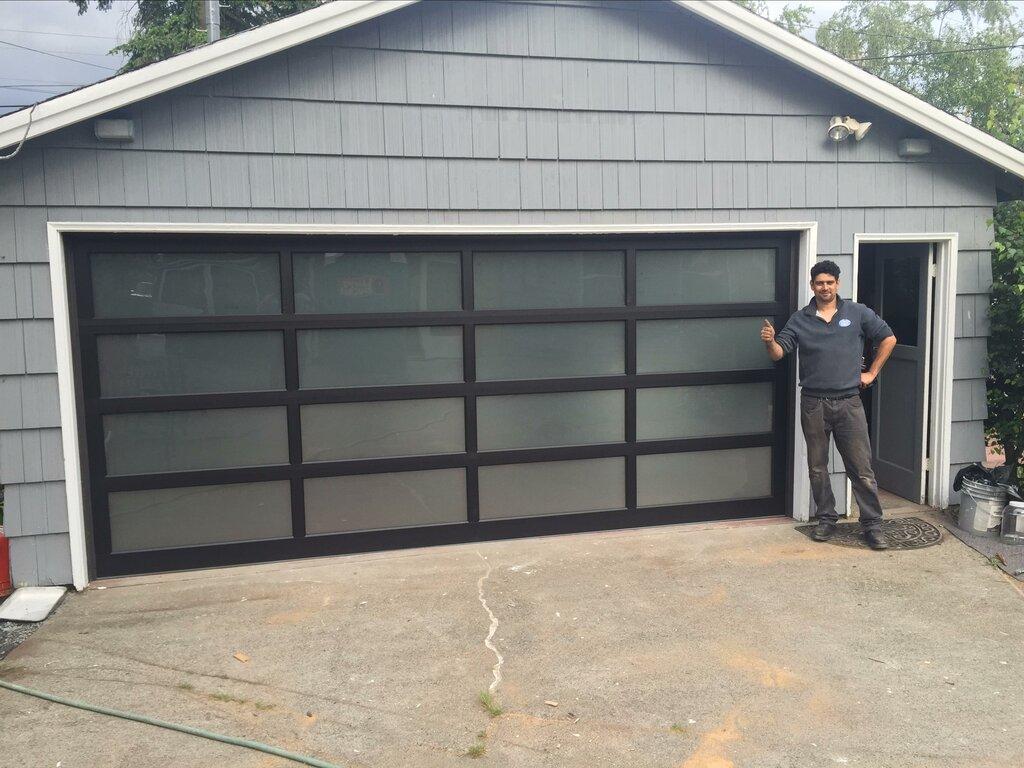 Repaired Residential Garage Door