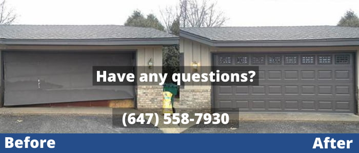 garage door repair in Aurora
