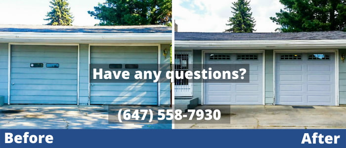 garage door repair in Clarington
