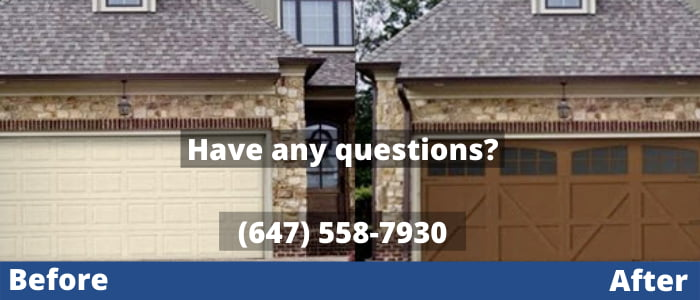 garage door repair in Georgina