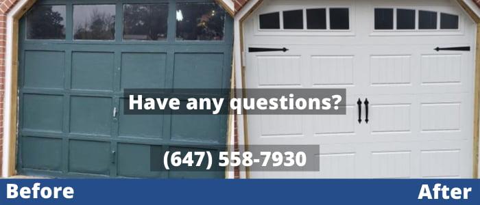 garage door repair in Vaughan