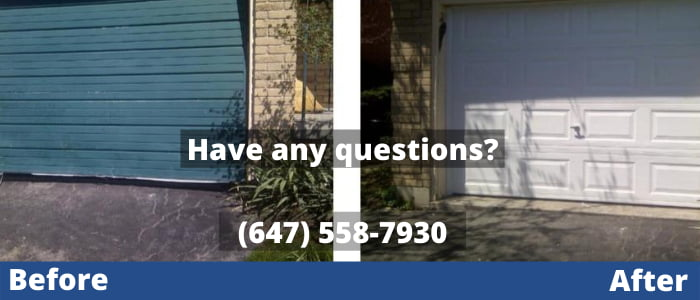 Garage Door Repair in Newmarket