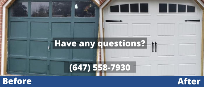 Garage Door Repair In Richmond Hill 647 558 7930 Free Estimate