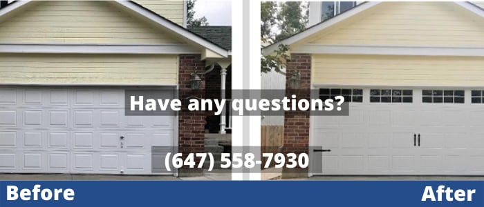 Garage door repair in Toronto