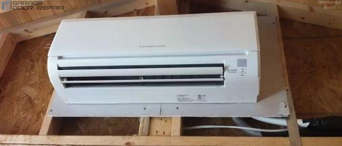 Air Conditioner in Garage